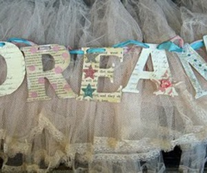 Dream and text image