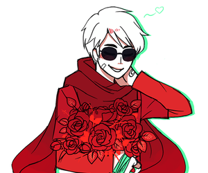 homestuck and dave strider image