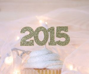 cupcake, cuotes, and happy new years image