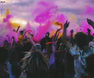 amazing, people, and colour run image