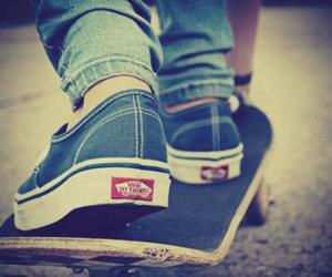 vans, skate, and swag image