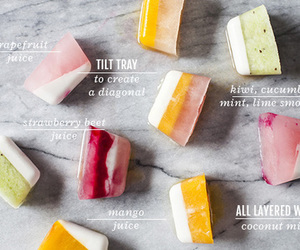 fruit, healthy, and ice image