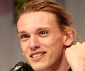 Jamie Campbell Bower, city of bones, and handsome image