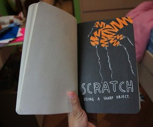 scratch and wreck this journal image