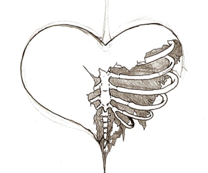 heart and drawing image