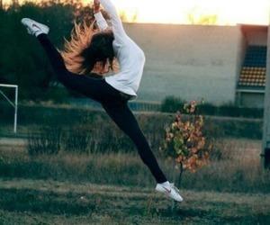 girl, dance, and jump image