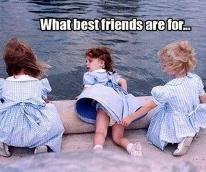 best friends, bff, and dress image