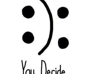 happy, sad, and smile image