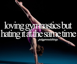 emotional, gymnast, and strong image