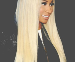 nicki minaj, blonde, and Queen image