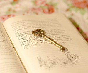 book and key image
