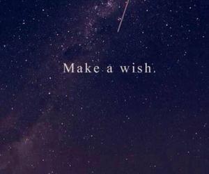 Dream, make a wish, and night image