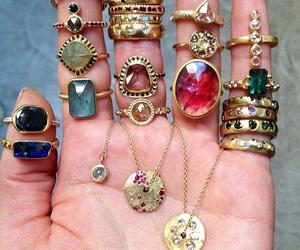 gypsy, hipster, and jewelry image