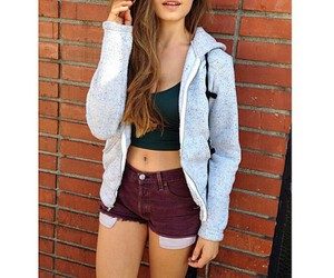 girl, long hair, and outfit image
