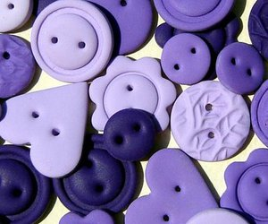 buttons and purple image