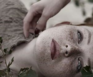 freckles, photography, and girl image