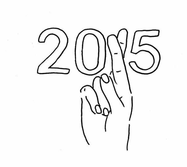 beginning, 2015, and black and white image