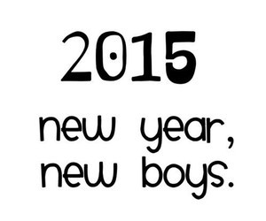 new year, 2015, and new boys image
