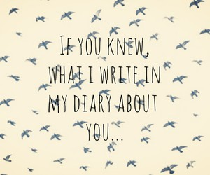 diary, secret, and you image