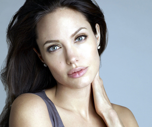 Angelina Jolie, beautiful, and girl image