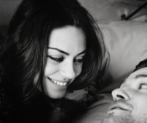 black and white, couple, and justin timberlake image