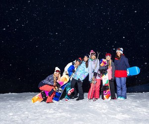 snow and friends image