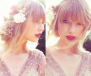 Taylor Swift, red, and beautiful image