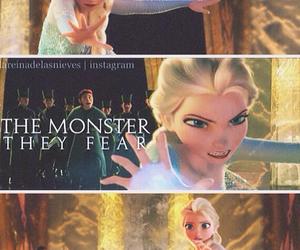 frozen, elsa, and queen elsa image