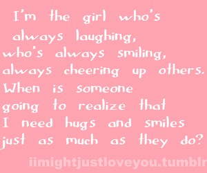 hugs, pink, and quotes image