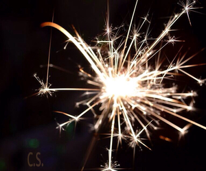 bright, fireworks, and happiness image