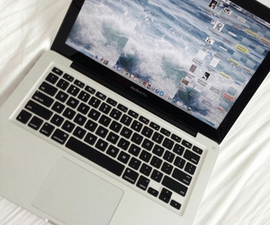 apple, laptop, and tumblr image