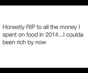 food, money, and rich image