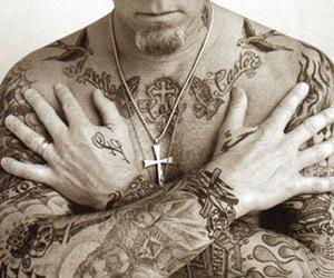 James Hetfield, metallica, and tattoo image