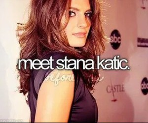 before i die, stana katic, and castle image