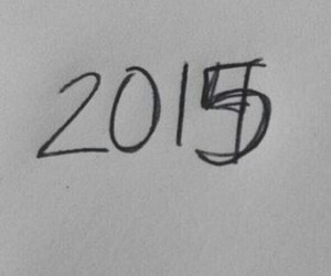 school, 2015, and happy new years image
