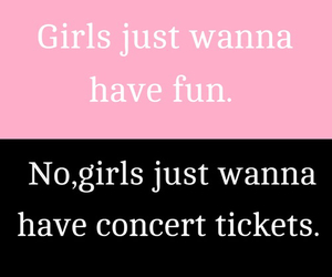 girl, concert, and funny image