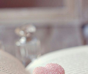 book, food, and macaron image