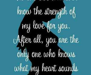 heartbeat, motherhood, and quotes image