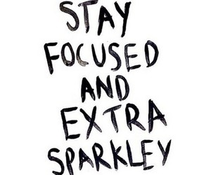 quotes, focused, and sparkle image