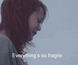 quote, fragile, and skins image