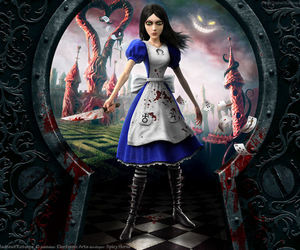 alice, wonderland, and alice madness returns image