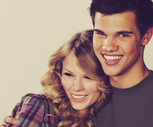 Taylor Swift, Taylor Lautner, and love image
