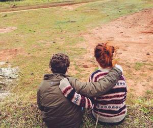 boy, bun, and couple image