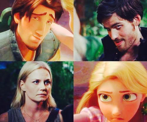 once upon a time, rapunzel, and emma swan image