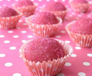 desserts and pink image