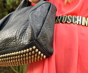fashion, Moschino, and bag image