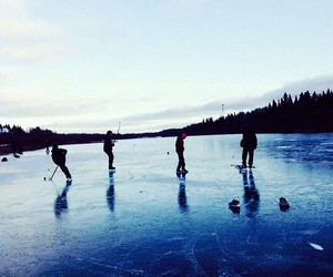 hockey and ice image
