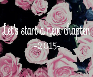 new year, pink, and new chapter image