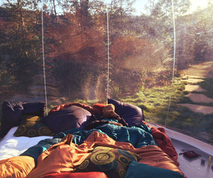 bed and nature image
