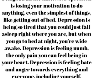 anger, depression, and hate image